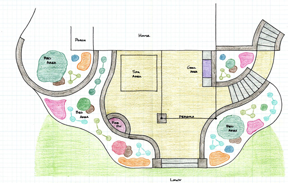 Country House Plans With Bat moreover House Design In Punjab Pakistan besides House Plans For Small Cottages With Porches as well Dutch House Style Characteristics likewise Houses Built On Sloped Land. on walkout bat landscaping